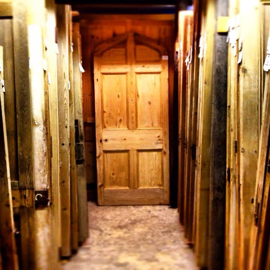 Reclaimed Doors Pine, Oak and Elm