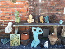 Art Stone Busts, Animals Statues
