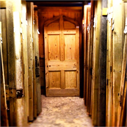 Internal Reclaimed Doors Showroom