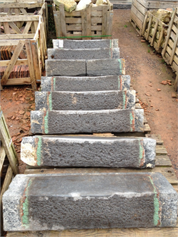 Reclaimed Blue Lias Steps