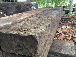 Old Reclaimed Railway Sleepers