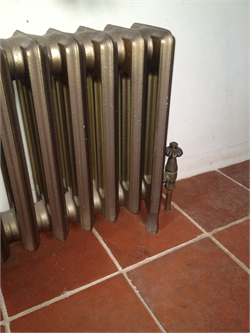Quarry Tiles Reclaimed Radiator