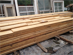 Re-sawn Pine Floorboards