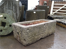 Limestone Trough Antique