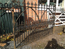 Reclaimed Victorian Cast Iron Gate