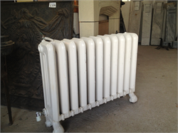 Restored Victorian Cast Iron Radiator