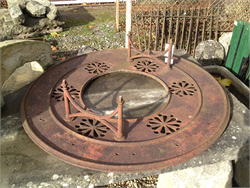 Cast Iron Antique Well Head