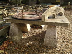 Blue Lias Staddlestone Table Garden