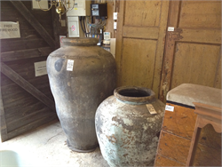 Ancient Indian Grain Pots