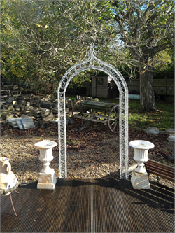 Wrought Iron Garden Arch