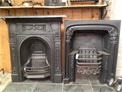Cast Iron Fireplace Insert & Combination