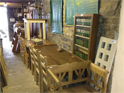 Reclaimed Elm and Oak Furniture